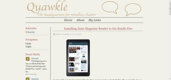 Quawkle's Squarespace review