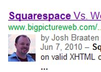 Claiming Google authorship on Squarespace