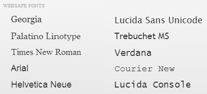 Squarespace comes standard with 10 websafe fonts.