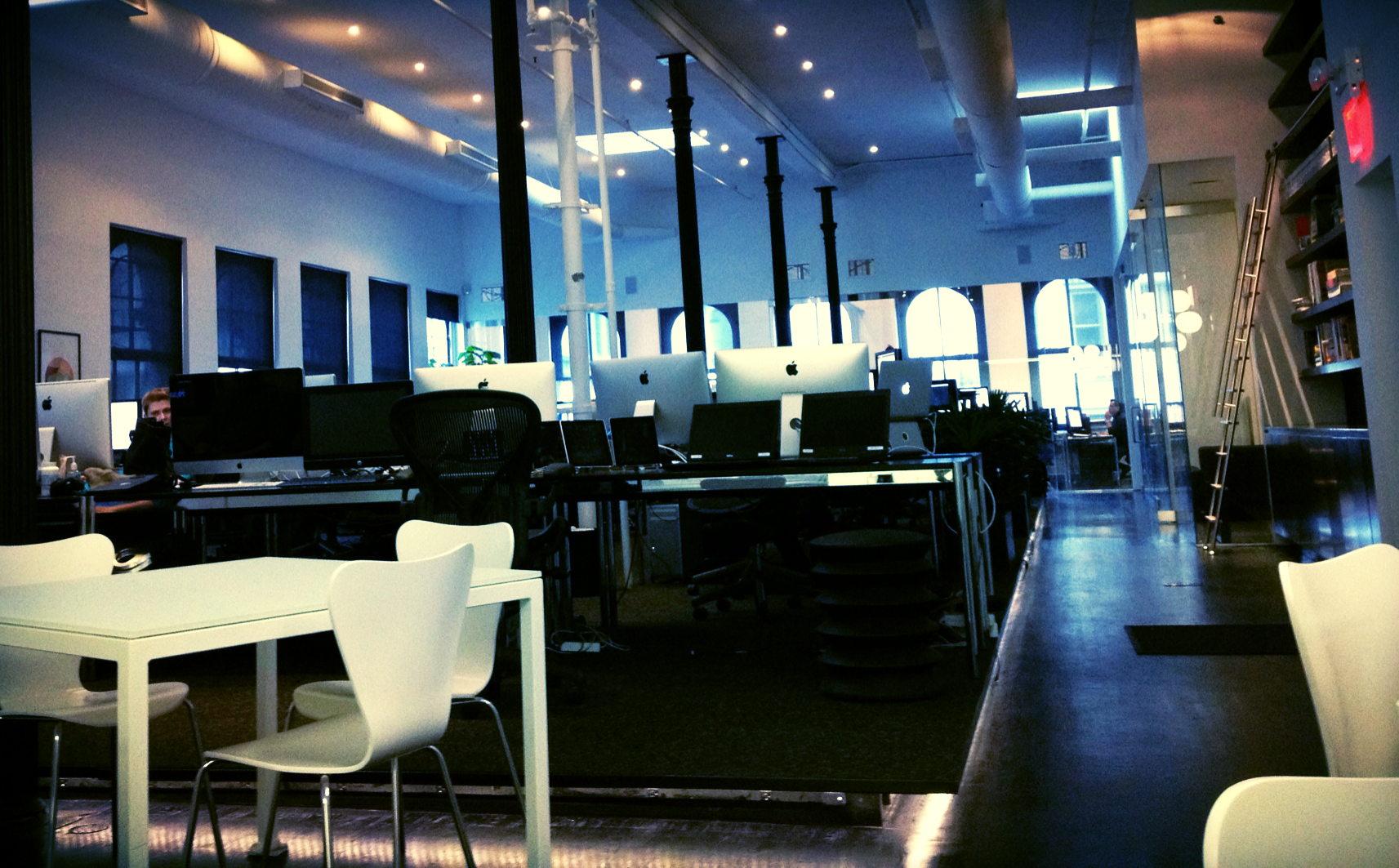 The staff at Squarespace have hands-down some of the nicest digs you could ask for.