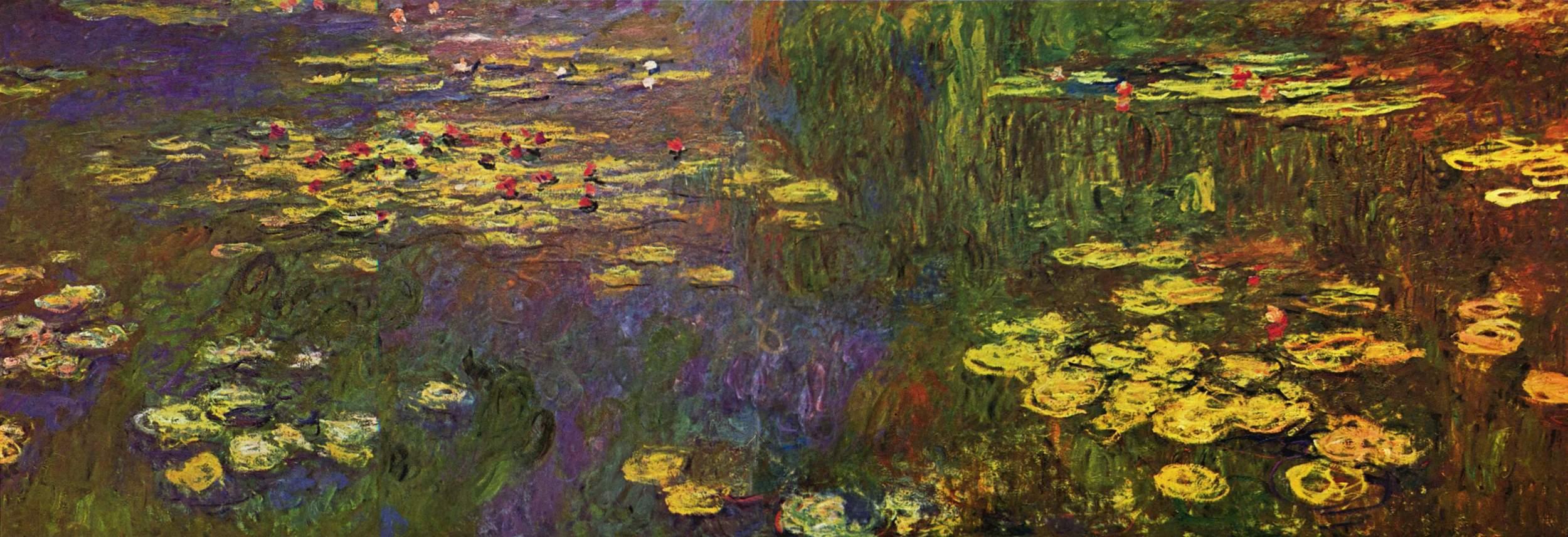 Personal branding is like Monet's  Water Lilies .