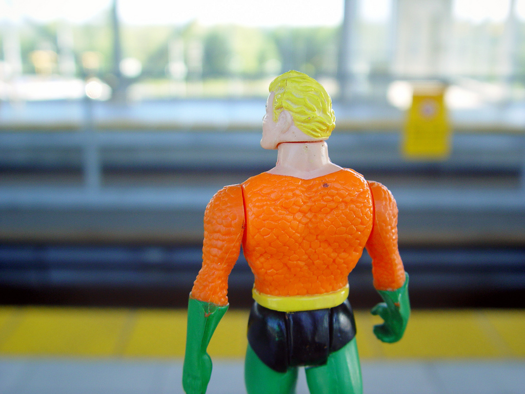 Be the superhero in your own personal narrative. Source: Flickr.