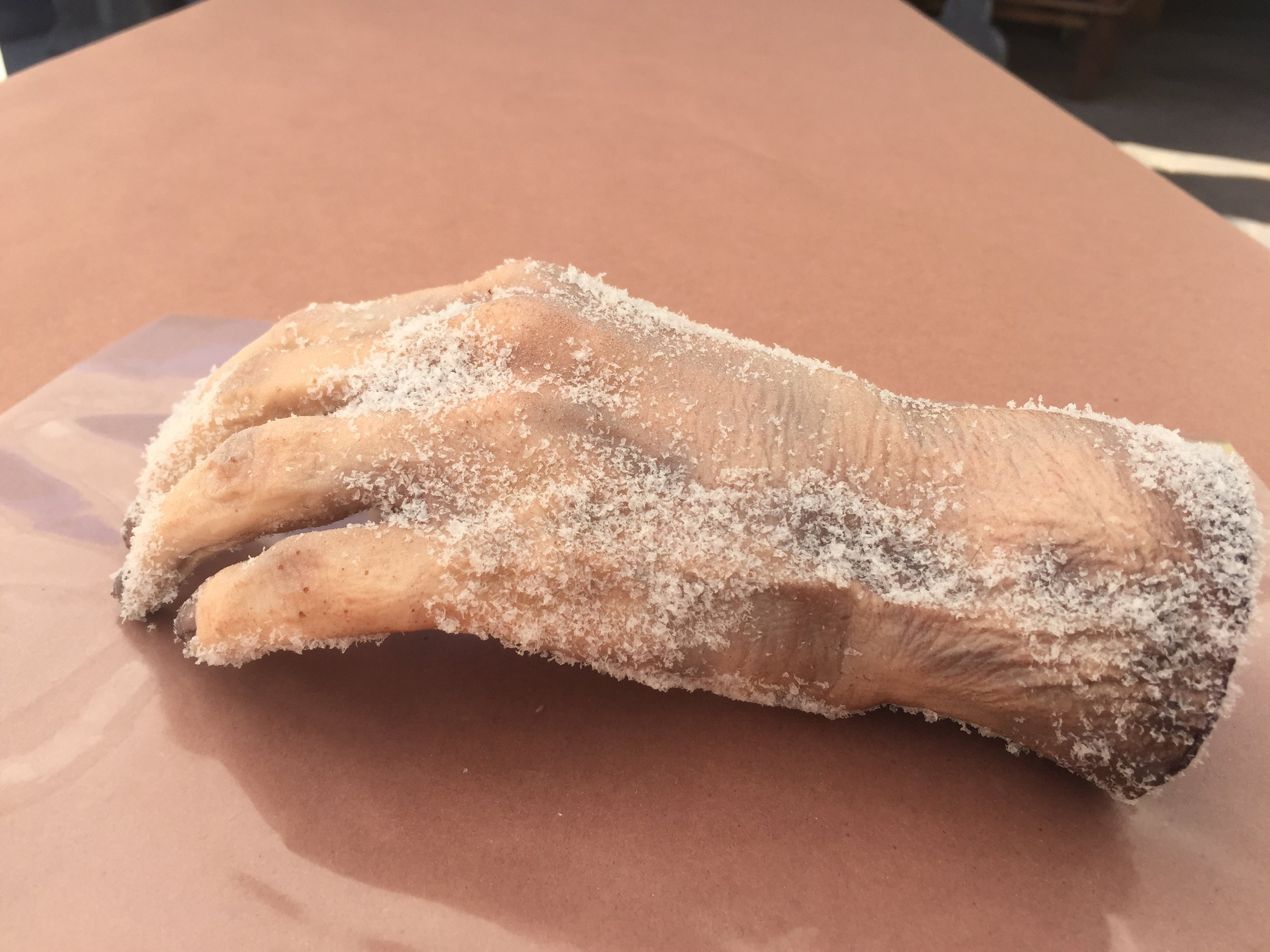 Urenthane Severed Frozen Hand