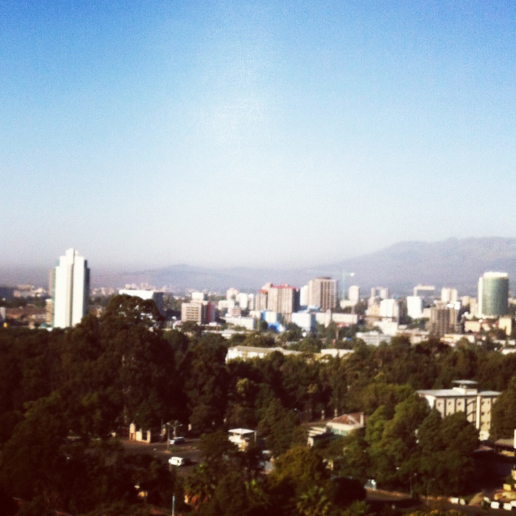 Morning in Addis Ababa, Ethiopia!