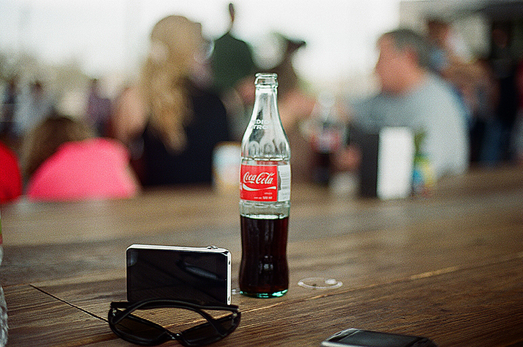 The Food Shark offers Mexican Coke, which every soda-drinker knows is far superior to American Coke.  That's real sugar, baby .
