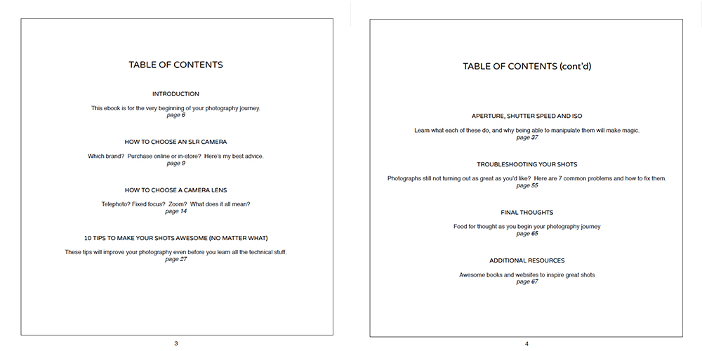 Click here to see the table of contents in a bigger format.