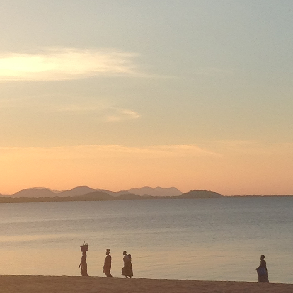 Sunset over Lake Malawi. No filter needed. Because light is awesome.