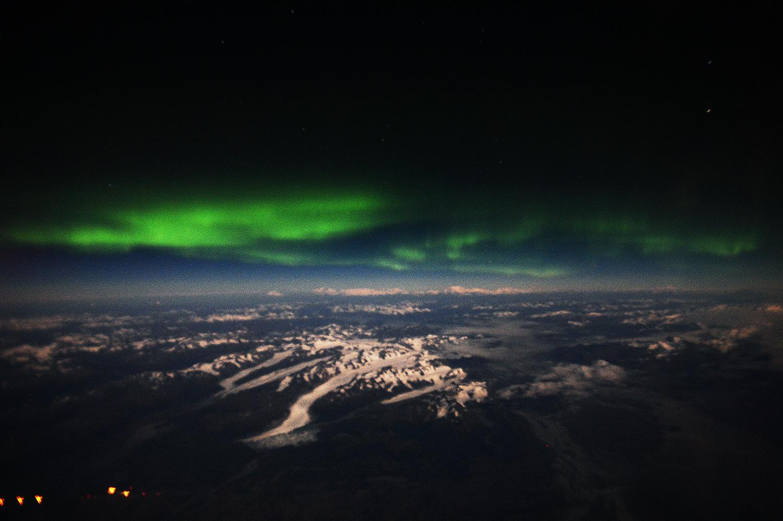 The aurora borealis over Alaska, October 2016 (number 77)