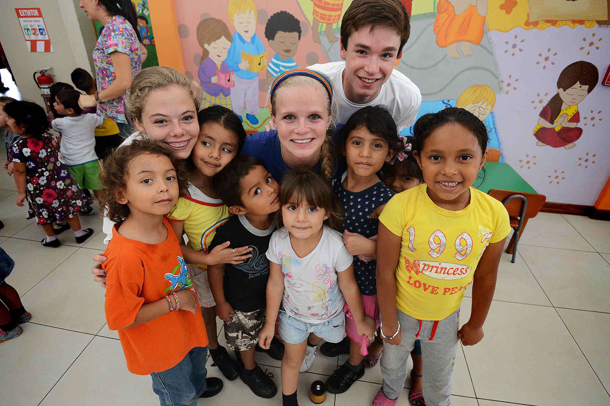 Making friends, San José, Costa Rica, June 2014.