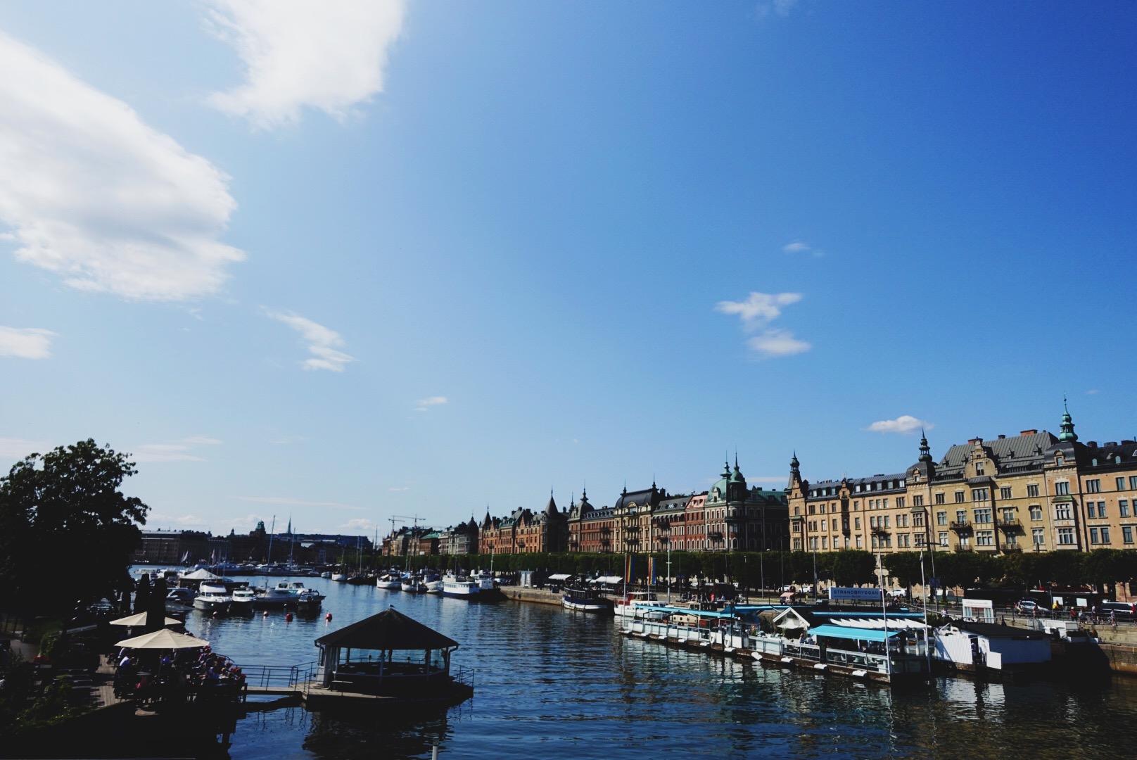 Stockholm: water, water everywhere.