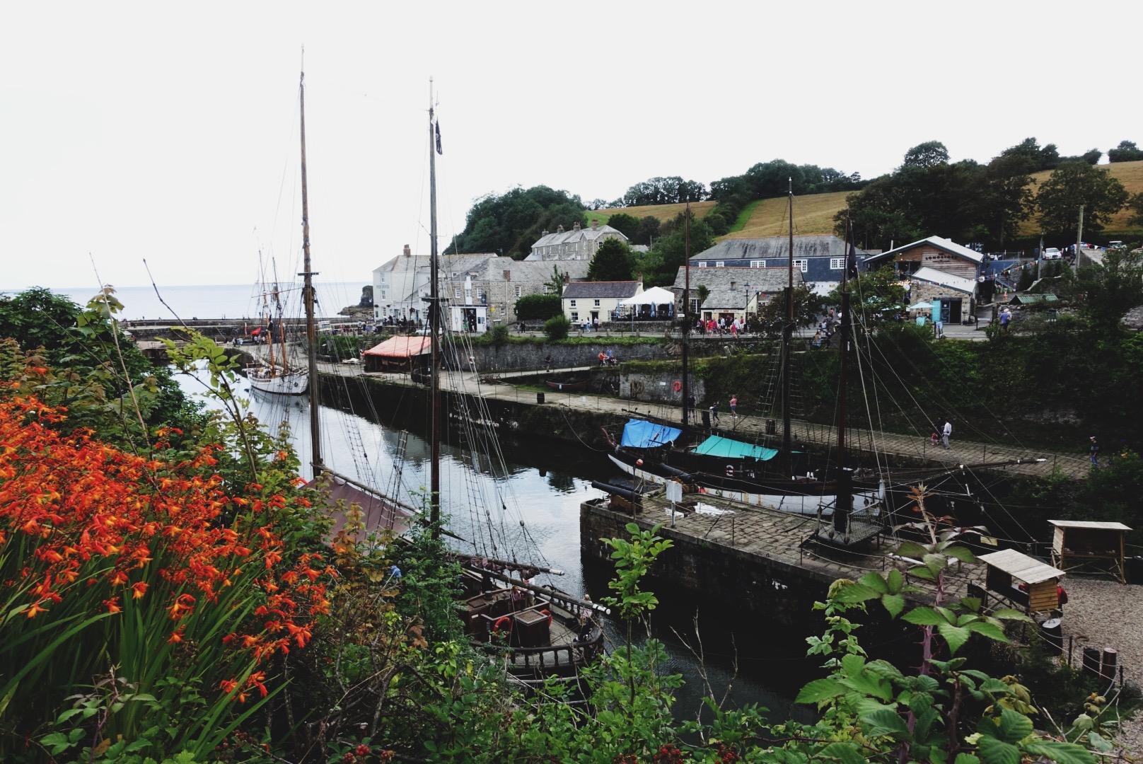 The village of    Charlestown   , Cornwall.