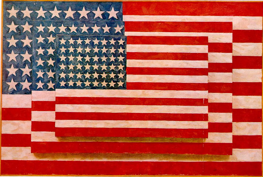 Jasper Johns: Three Flags