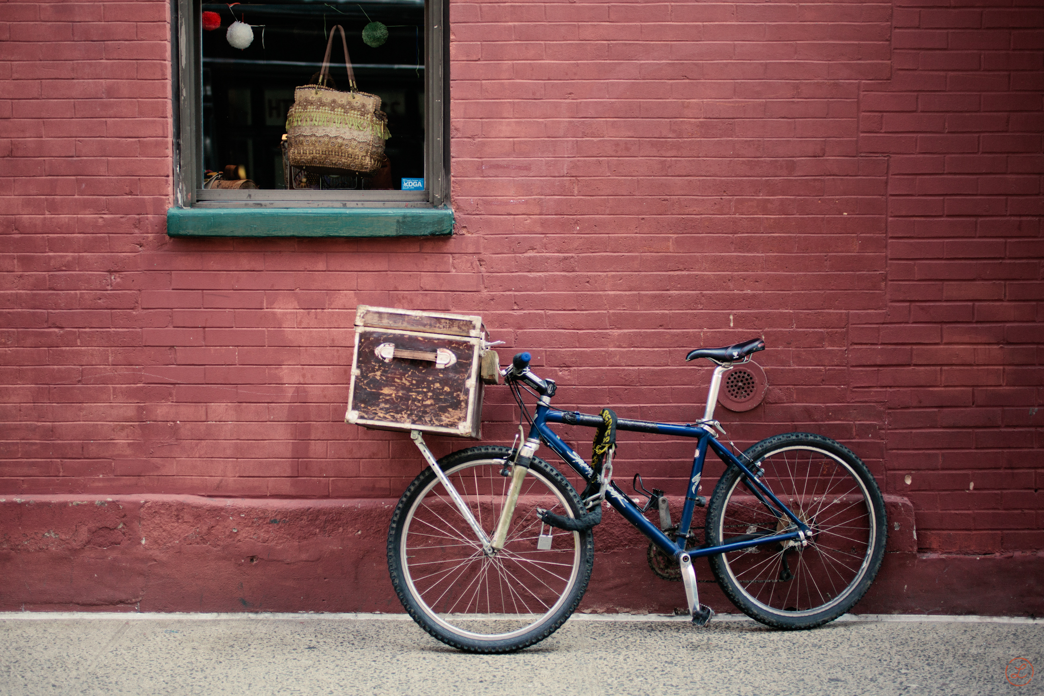 Bicycle in Nolita, New York City.
