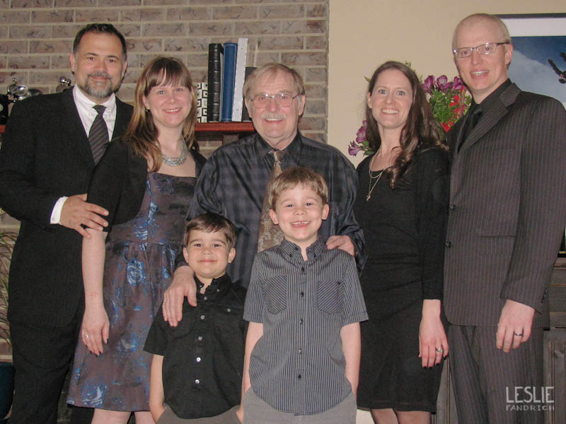 Our first family picture without my Mom. The new normal. In most of the pictures we took of our family, you could see circles of light, usually over my sister and her husband. Call them dust particles if you want, but I'm going to believe that my Mom was close by.