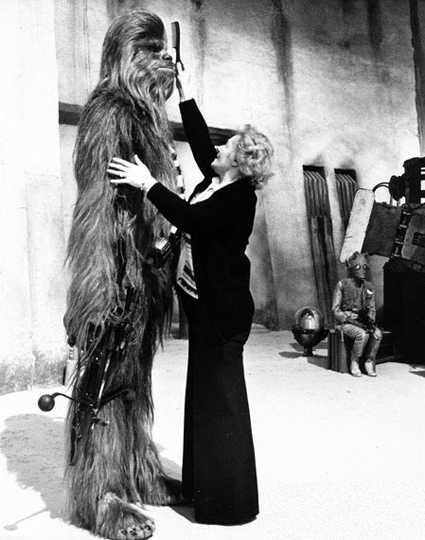 """I'd rather comb a wookie!"" Source: Unknown."