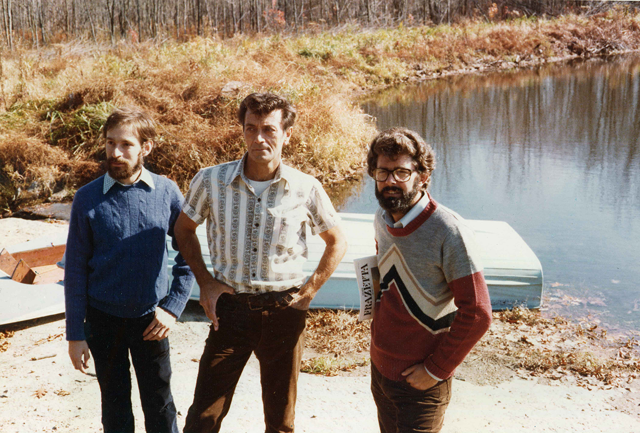 Edward Summer, Frank Frazetta and George Lucas.