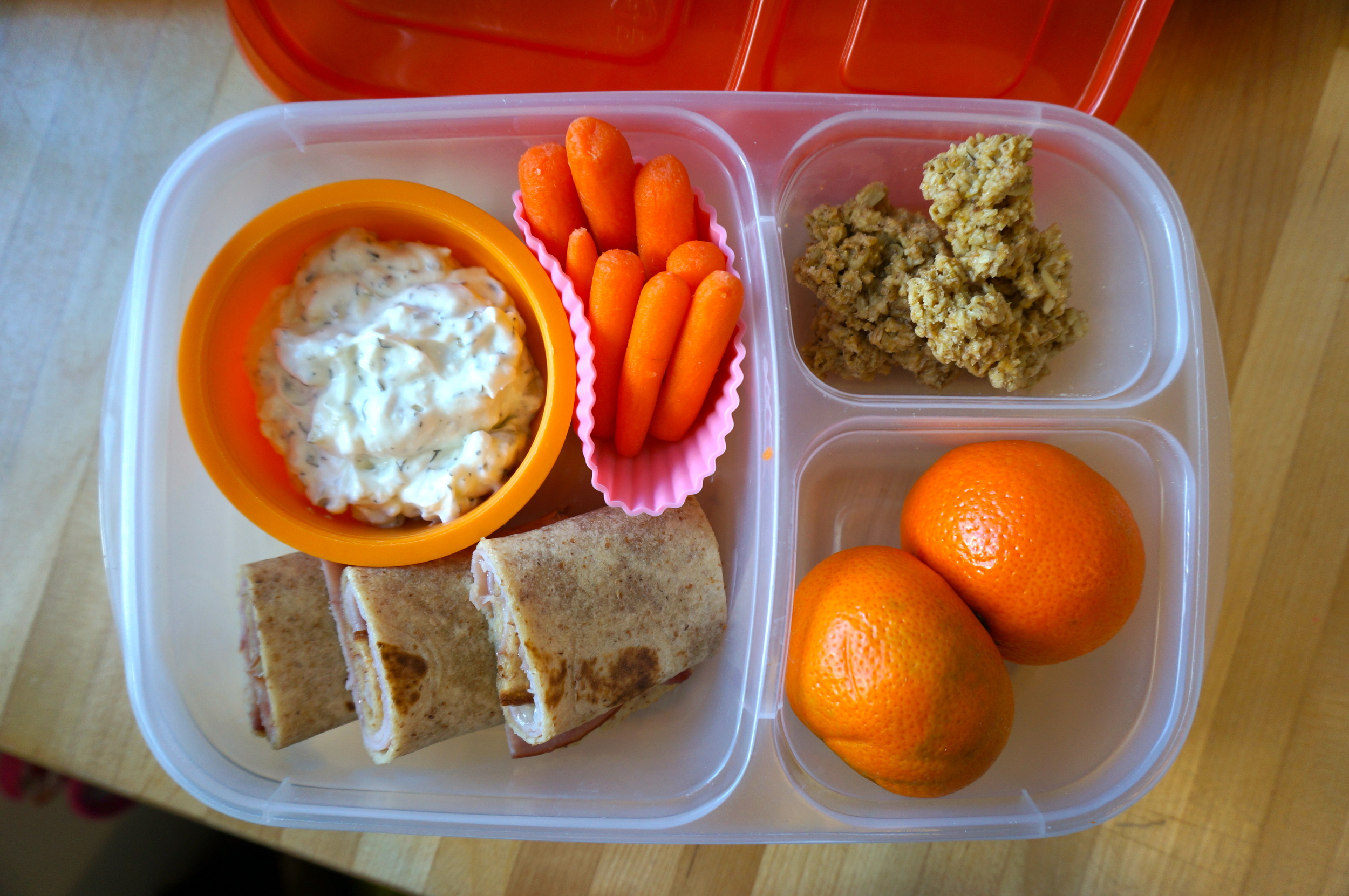 The no-hassle, 4 minute lunch!