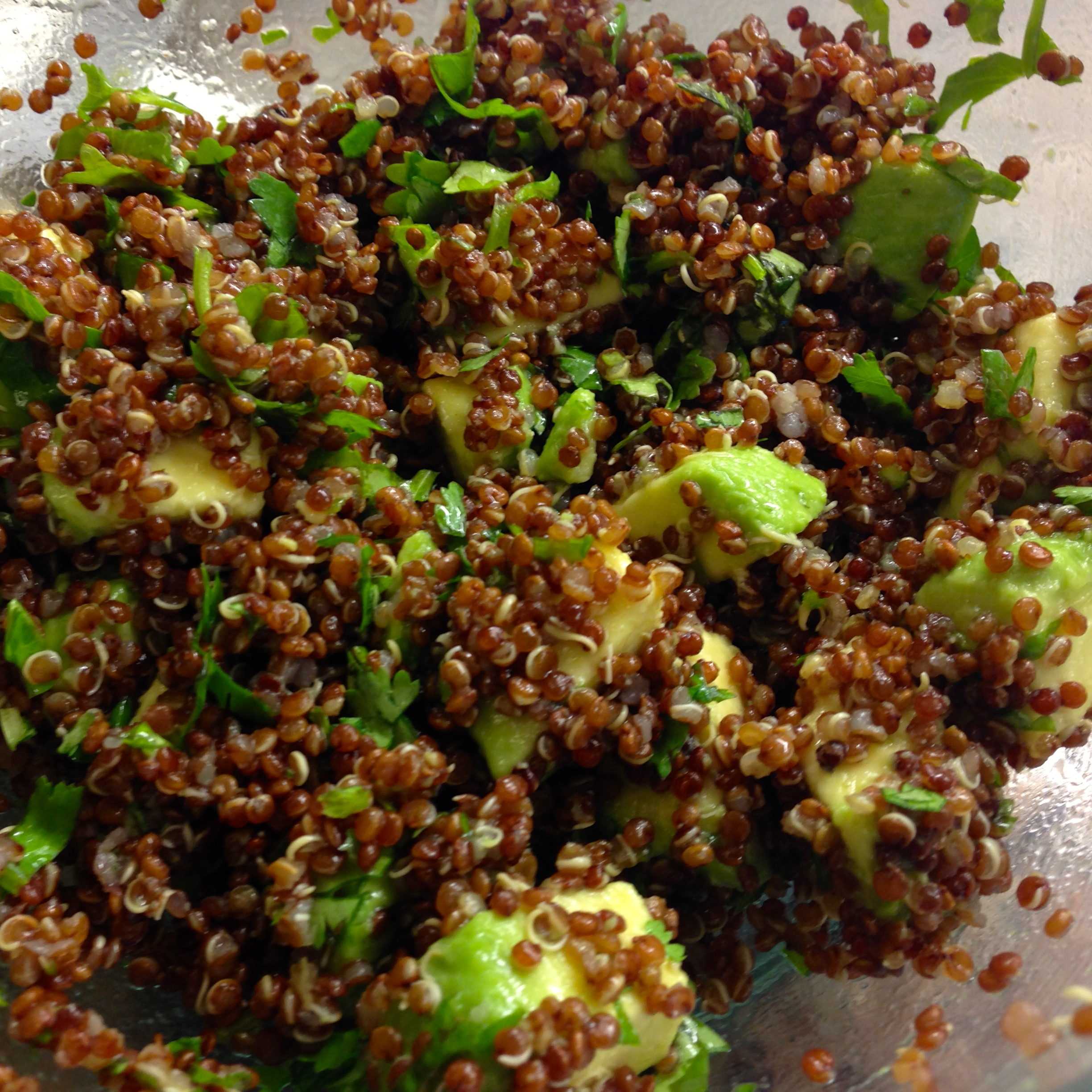 Quinoa with Avocado