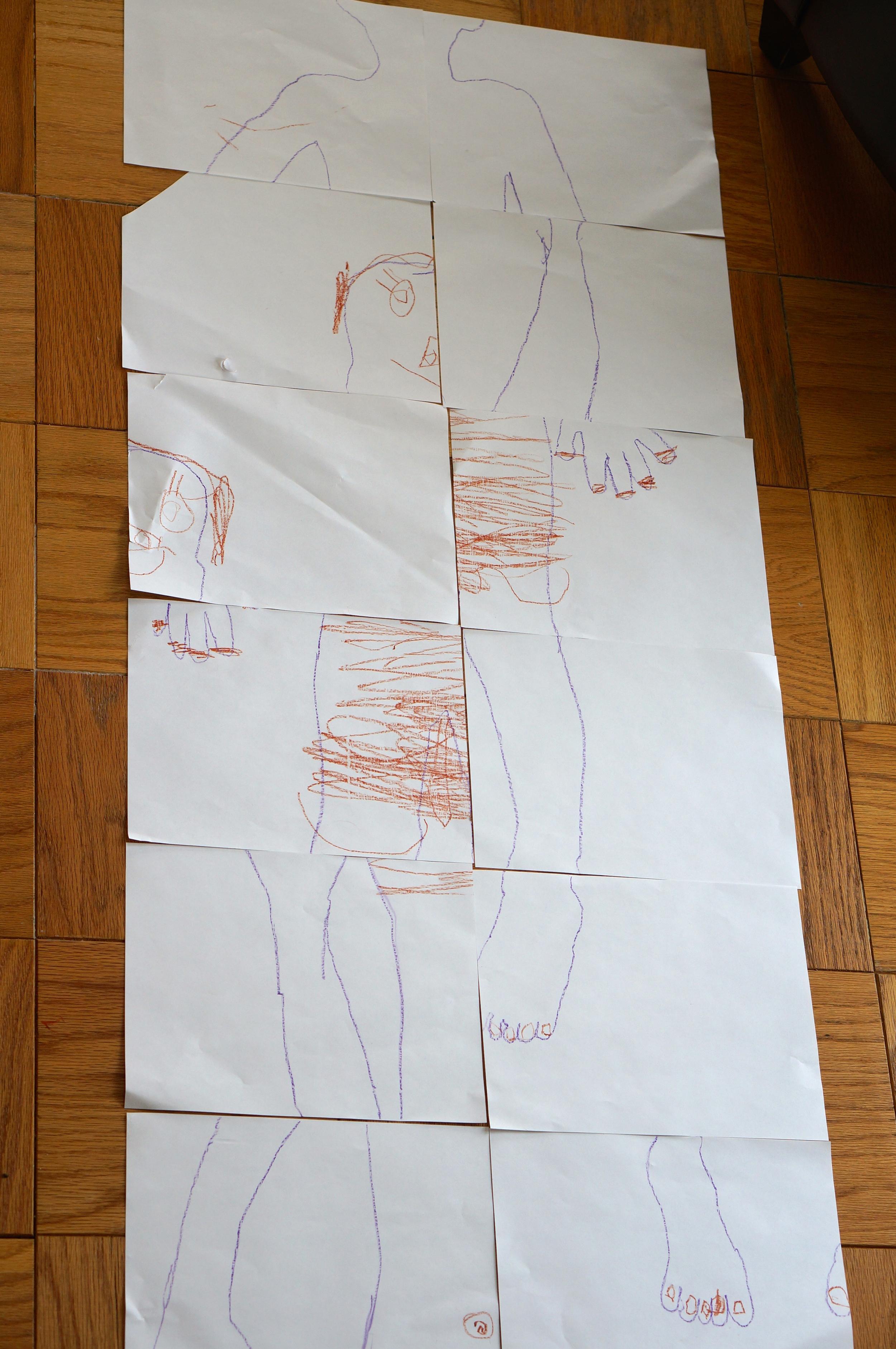 body puzzle 4