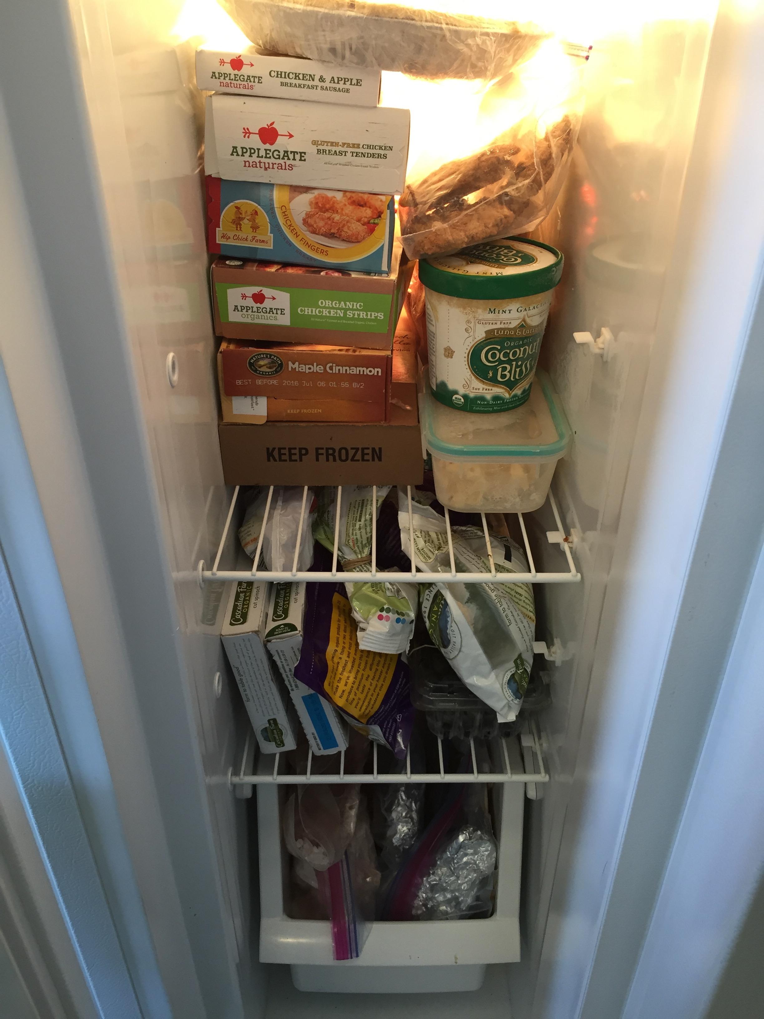 my skinny freezer