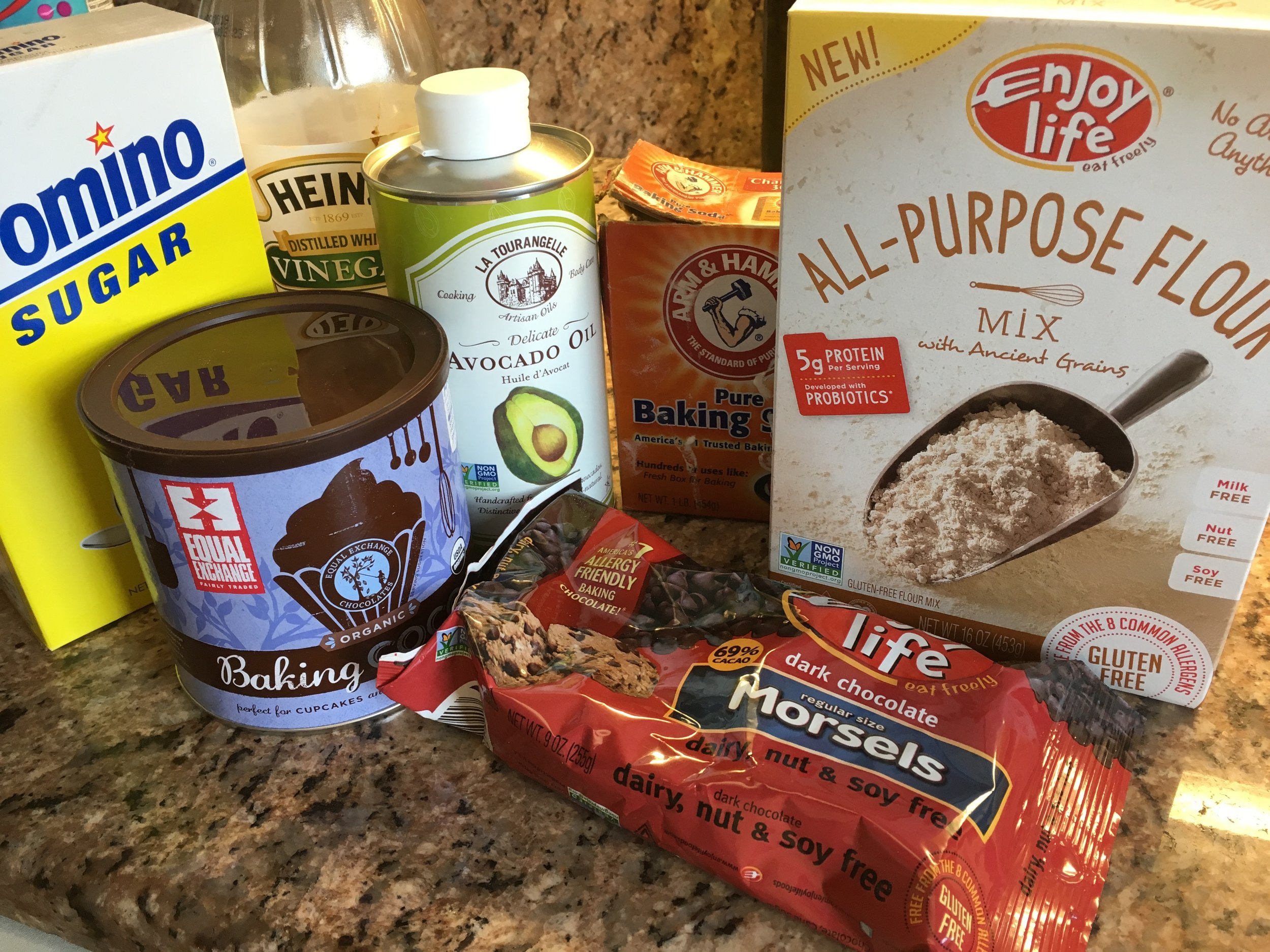 Wacky cake ingredients for gluten free cake