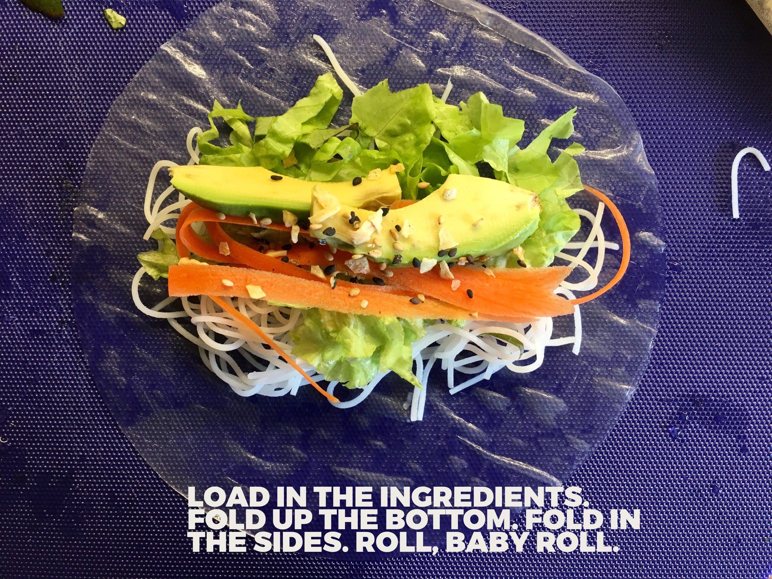 Salad Summer Rolls #2