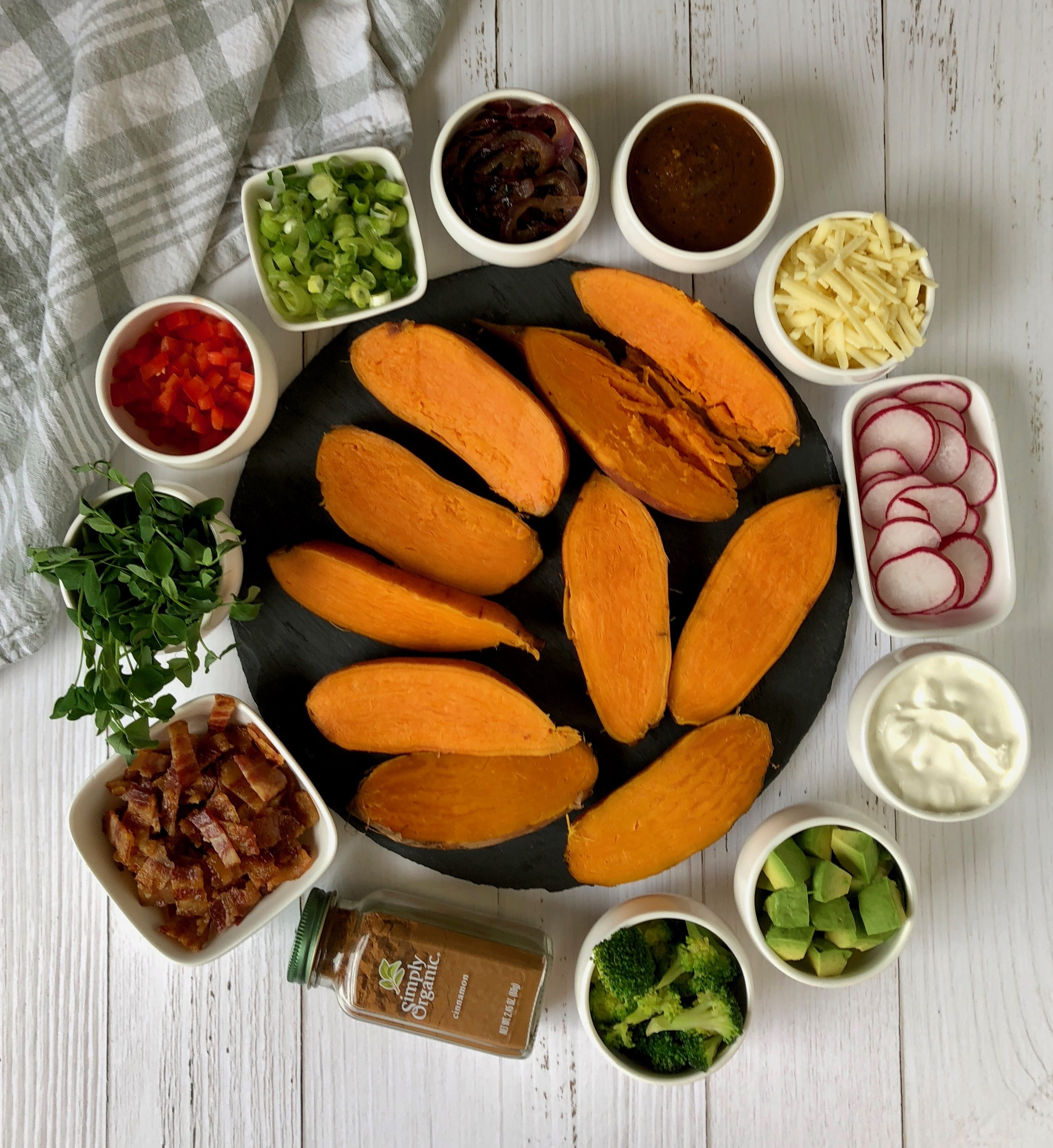 DIY Sweet Potato Bar