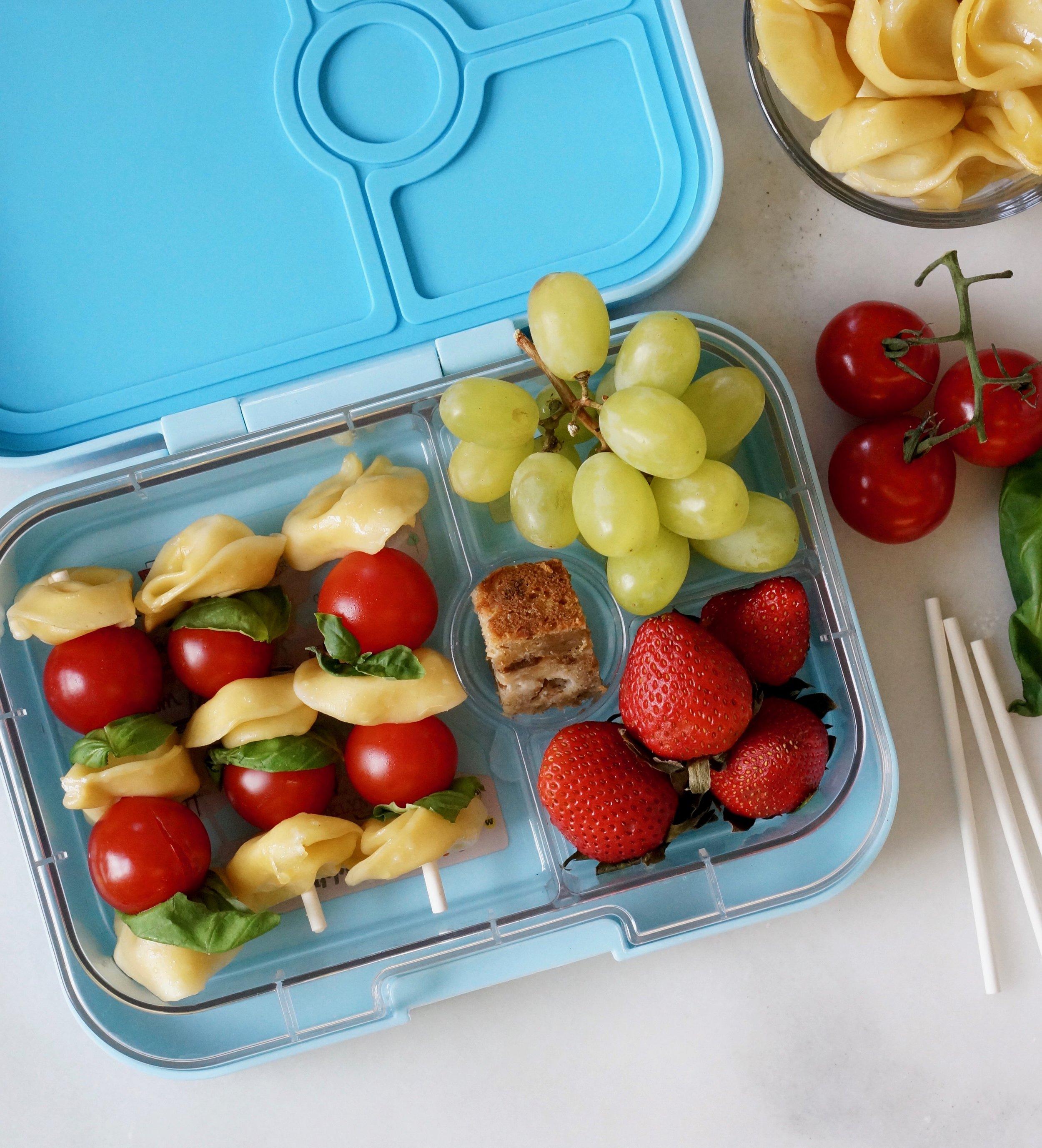 tortellini kebab lunchbox