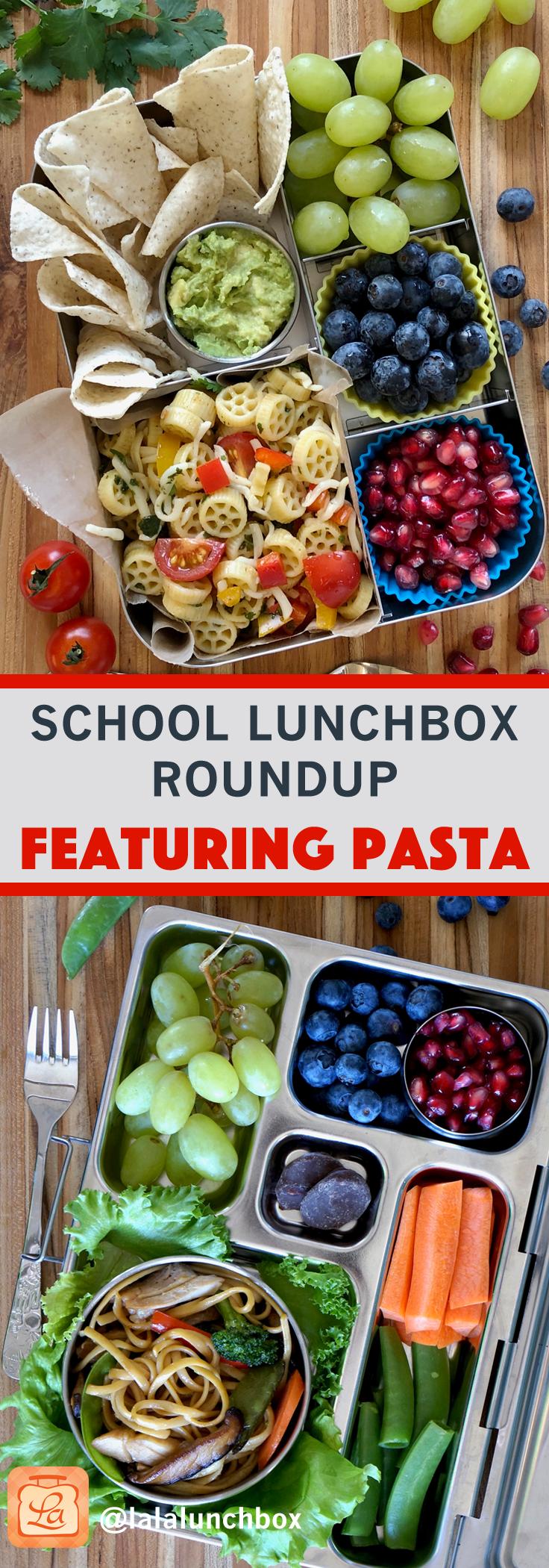 school lunch roundup pasta