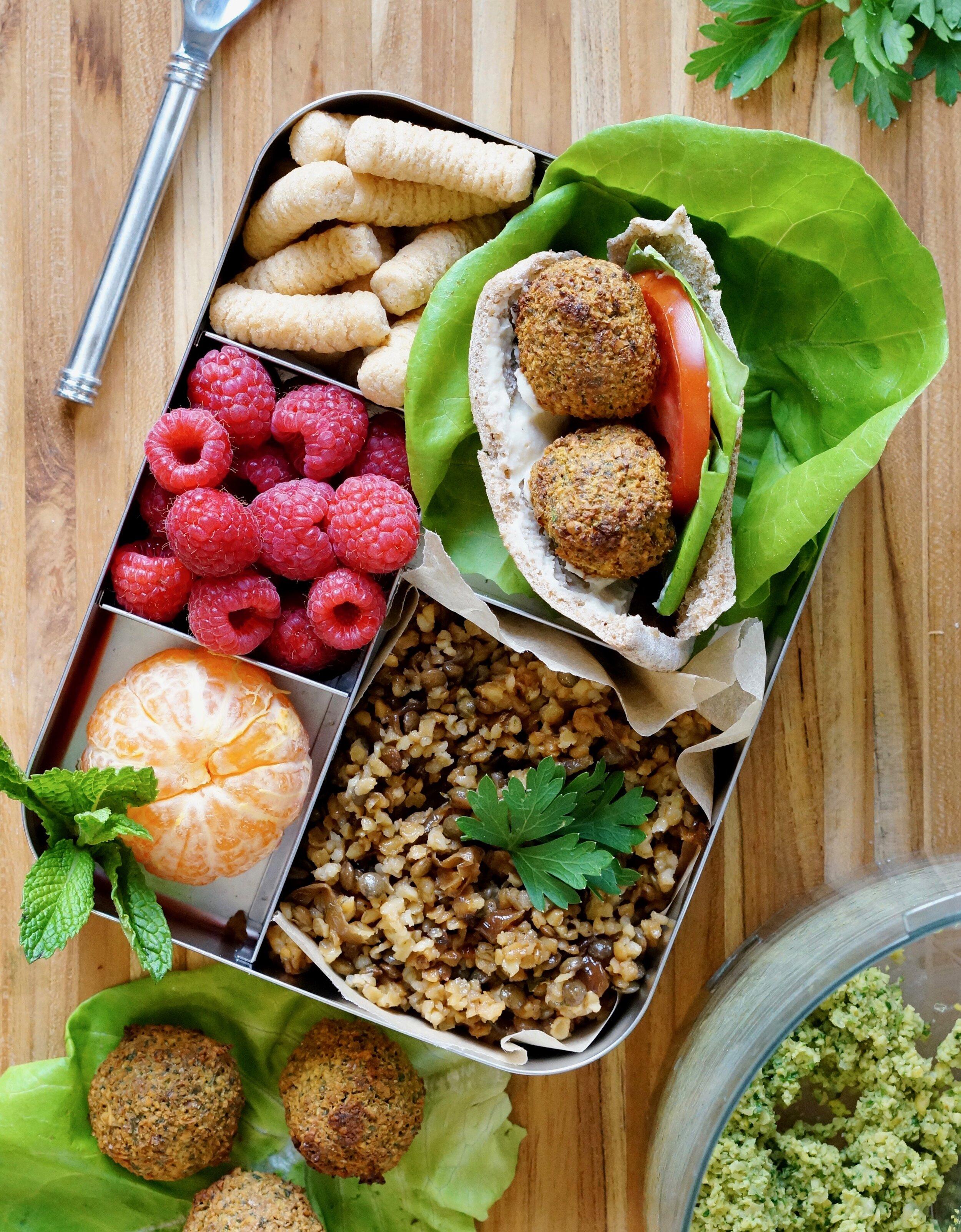 falafel lunchbox