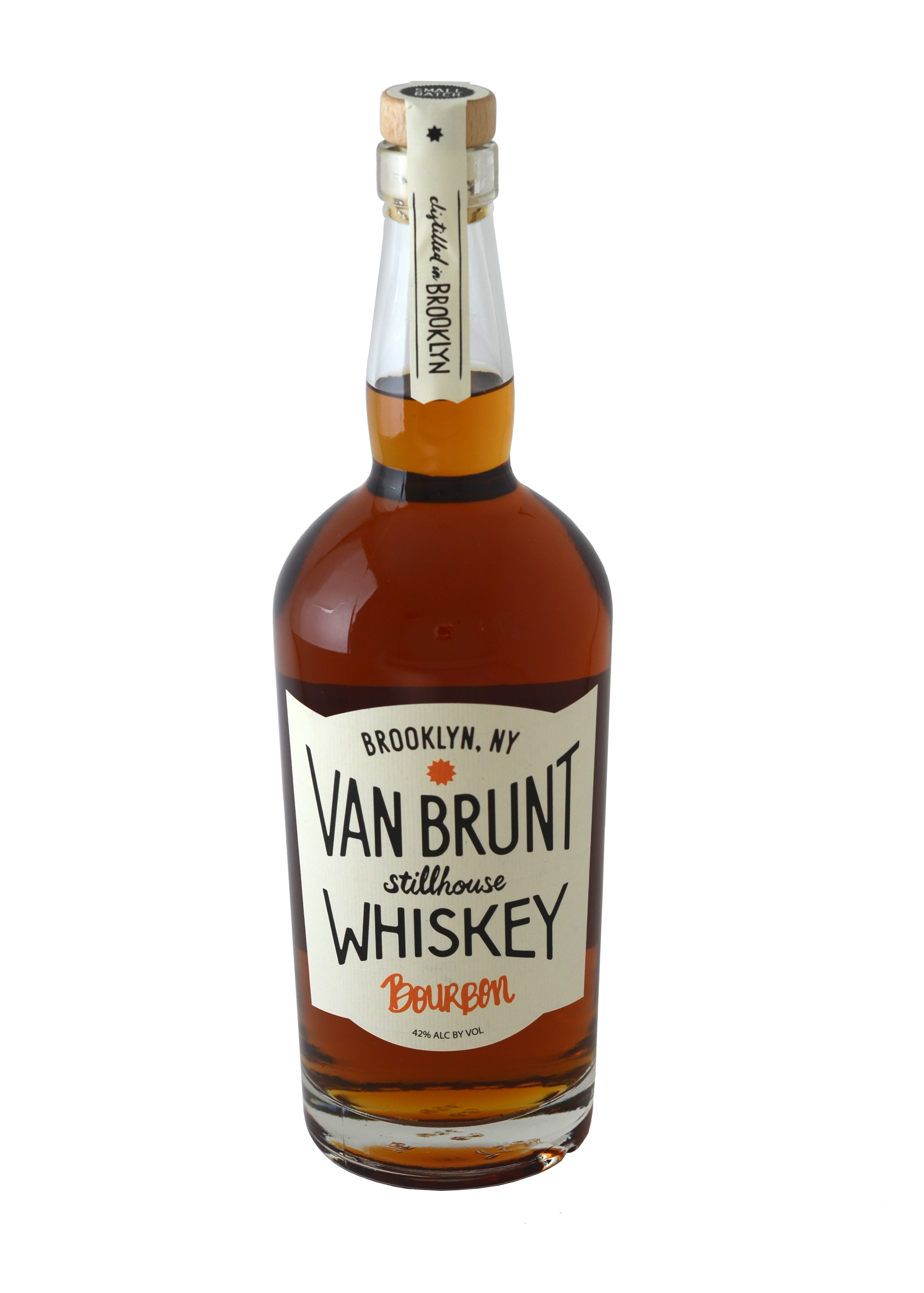 VBS  Bourbon  is a four grain wheated bourbon distilled from New York corn. Bold and full bodied with notes of chocolate, butterscotch, sweet cream and banana, finishing smooth with hints of spice pepper, maple, nuts and coffee.