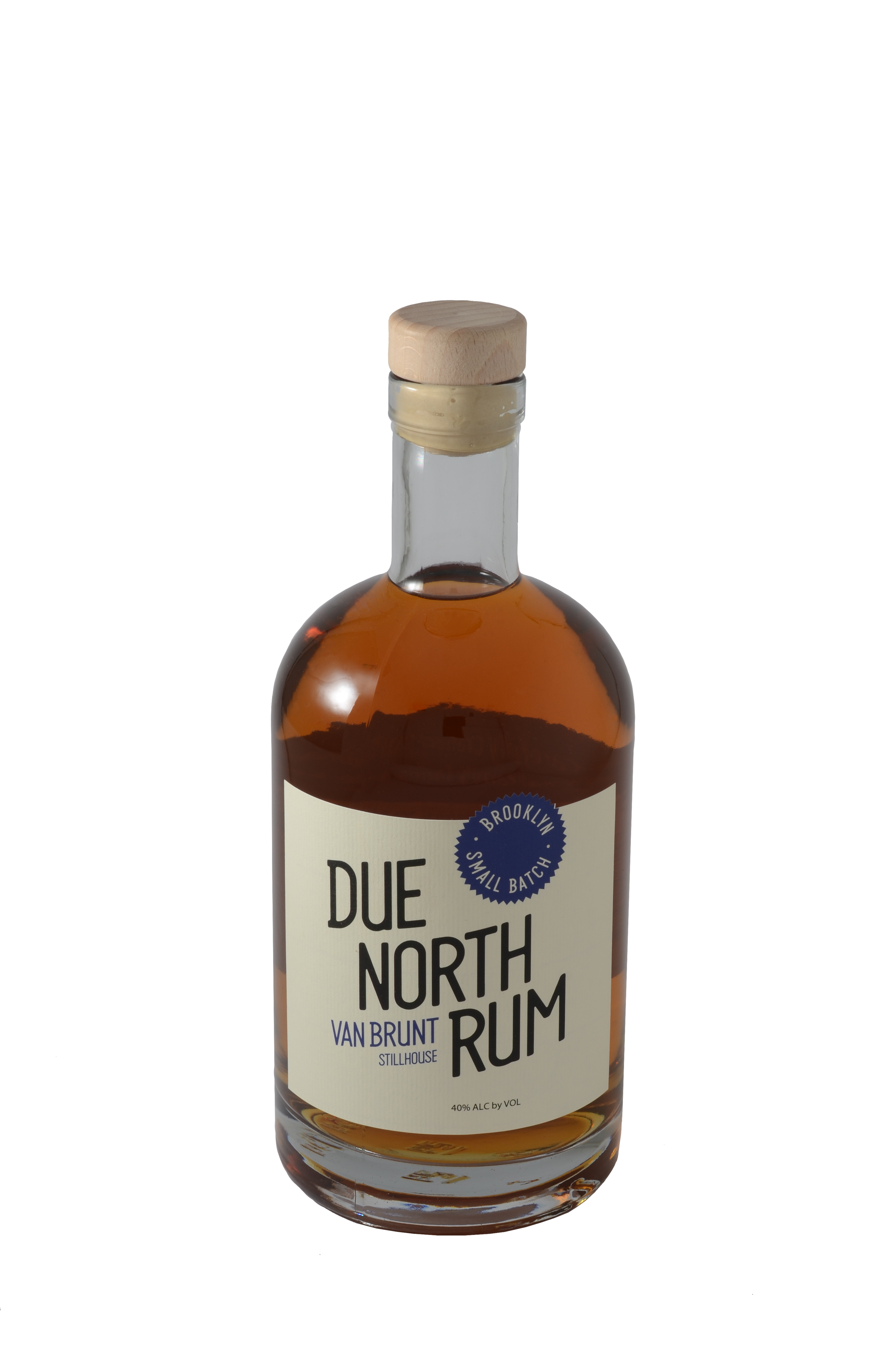 VBS  Due North Rum  is an amber rum distilled from organic, unprocessed Himalayan sugarcane. Notes of vanilla and molasses recall grandmother's cookies, while the fresh charred barrels make this a whiskey lovers' rum.
