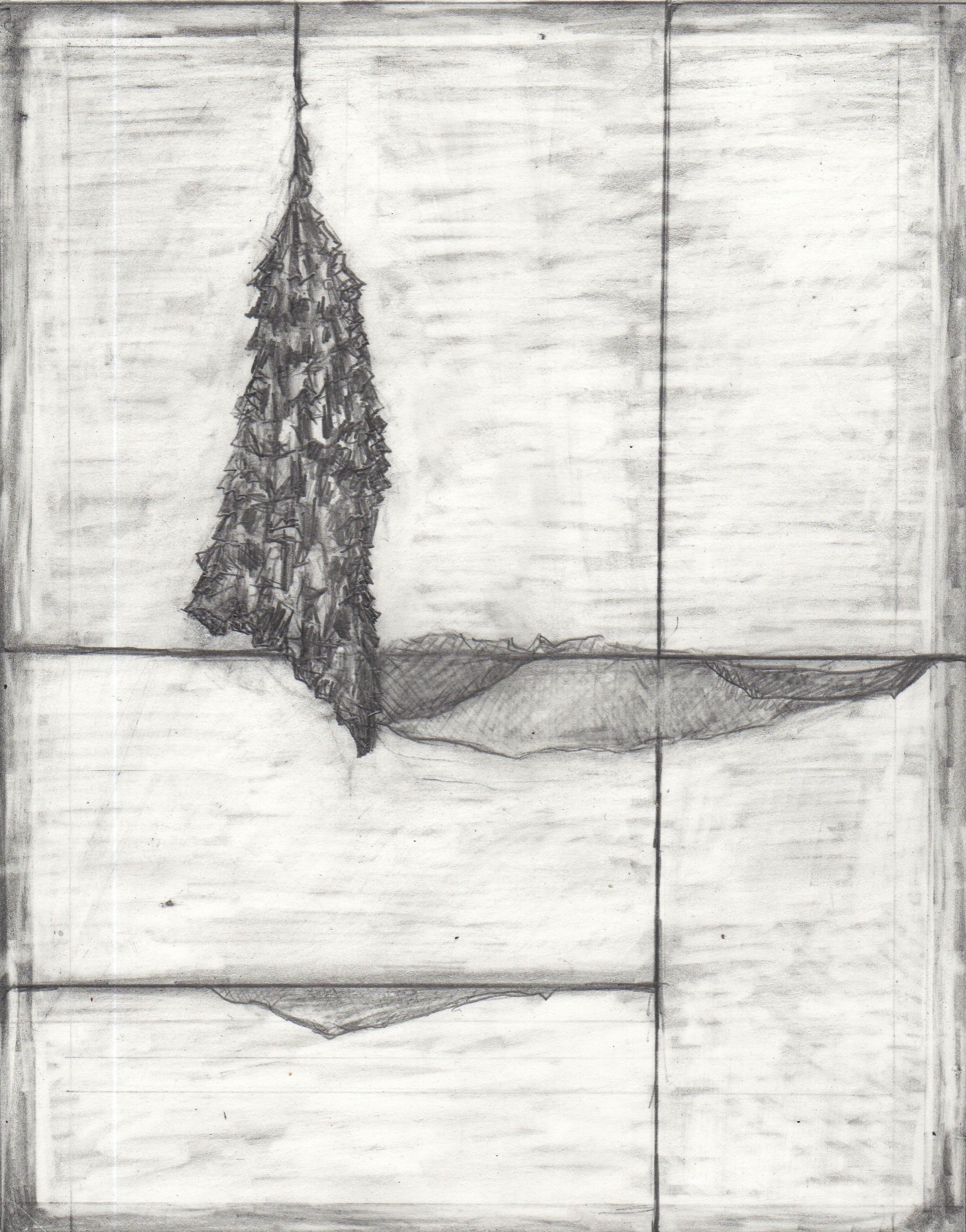 STUDY, graphite on paper, 2014