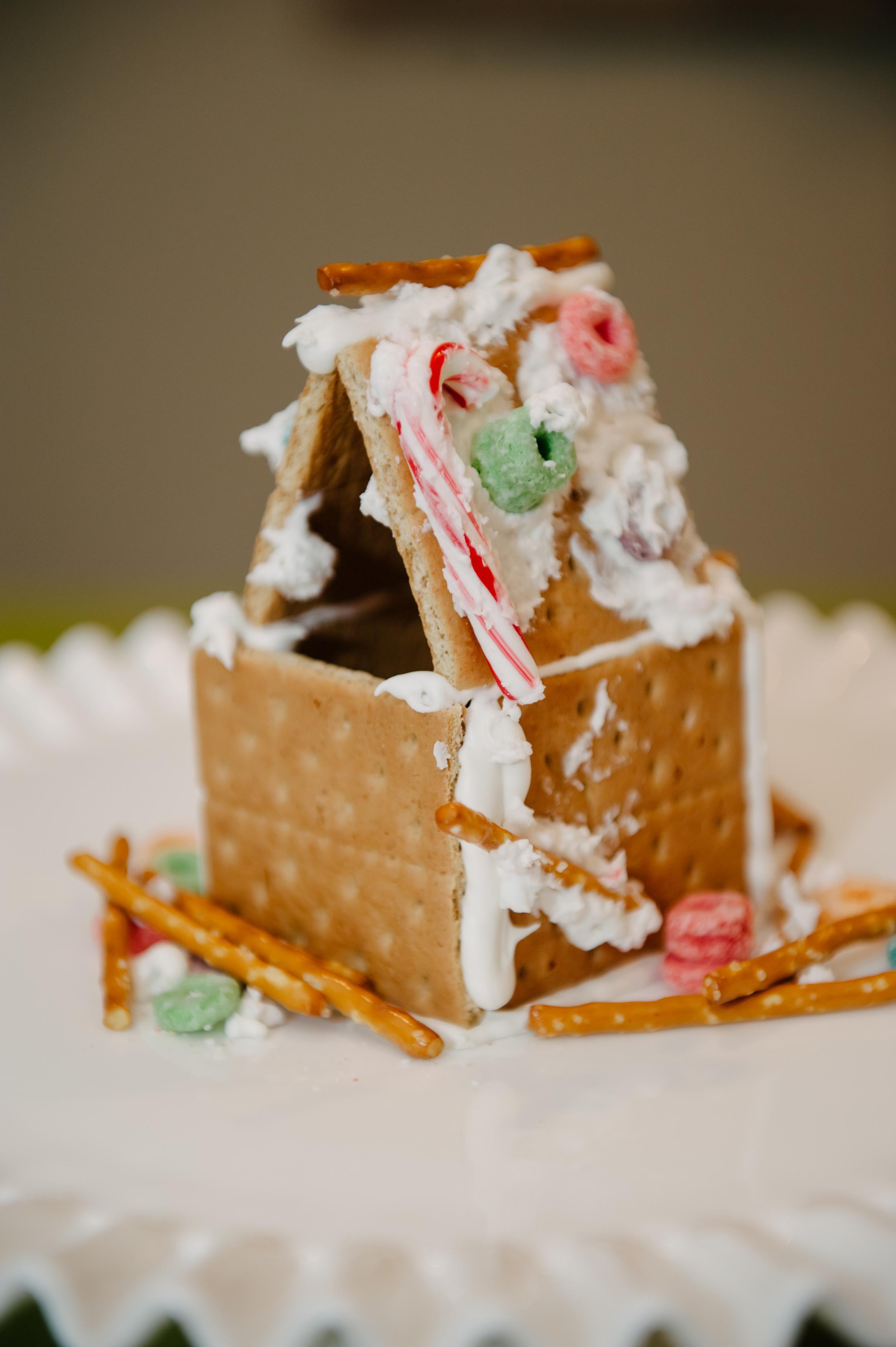 Beckett's Gingerbread House