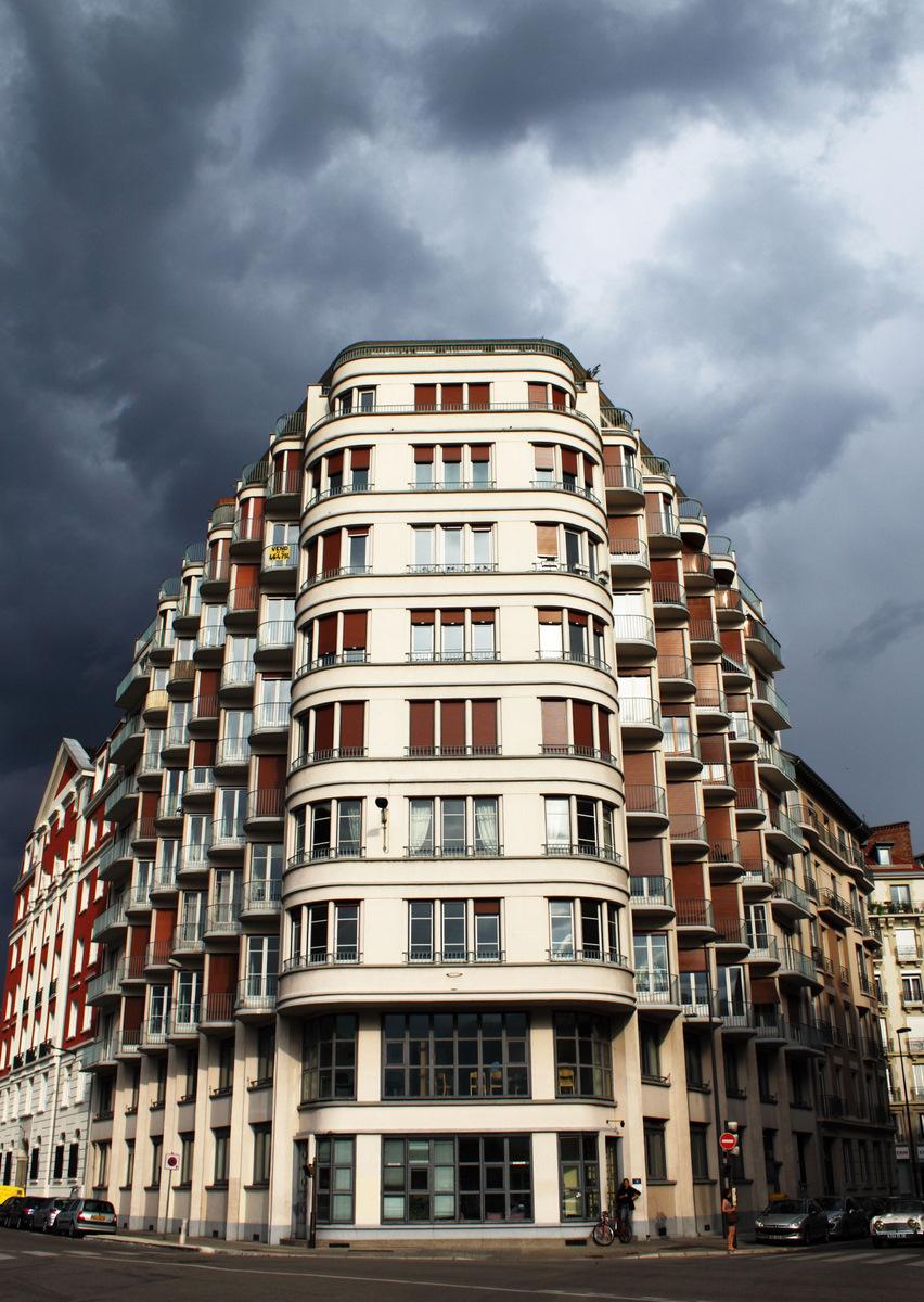 Grenoble building