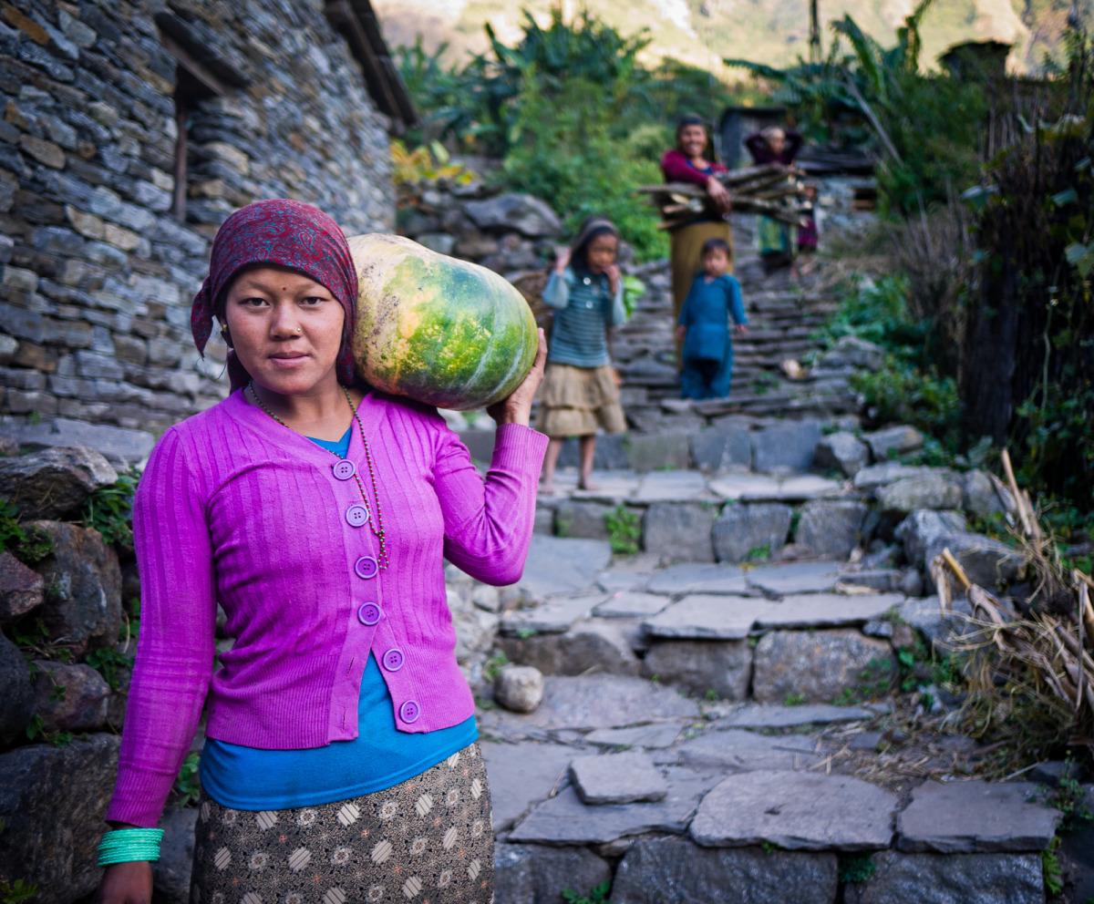 Nepal gardening