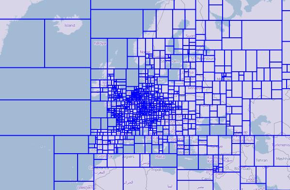 On demand generation of custom regions on OpenStreetMap for Garmin