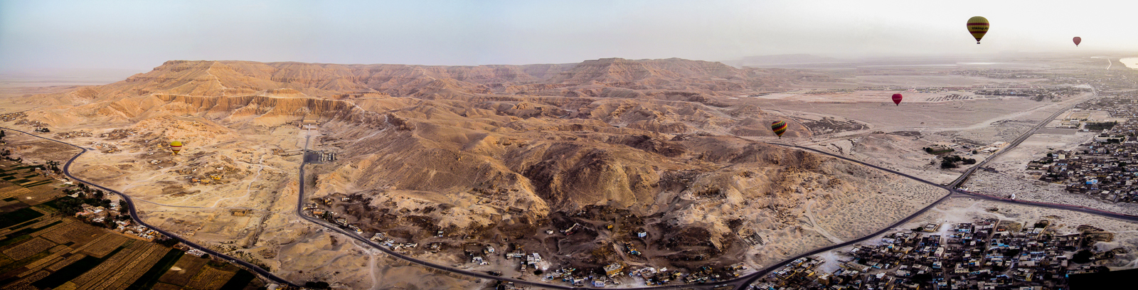Valley of the Kings from the air