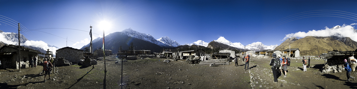 Shyla Nepal on the Manaslu Circuit