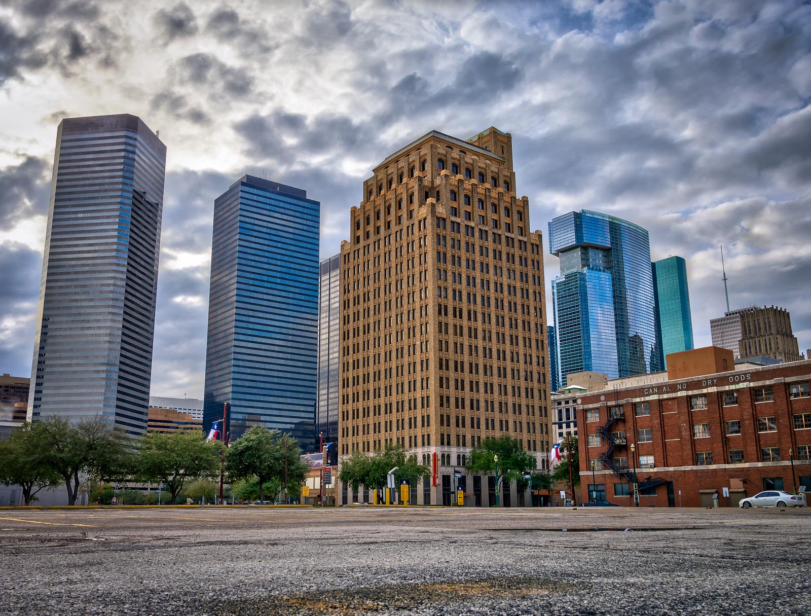 Parking lot in Houston