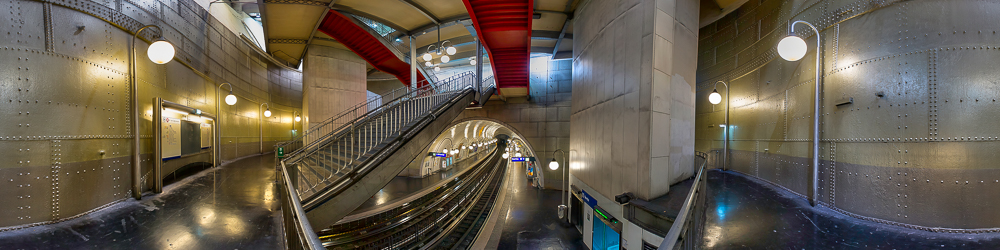 Cite Metro station, Paris