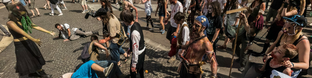 Zombie Walk 2015 in Grenoble - VR Tour