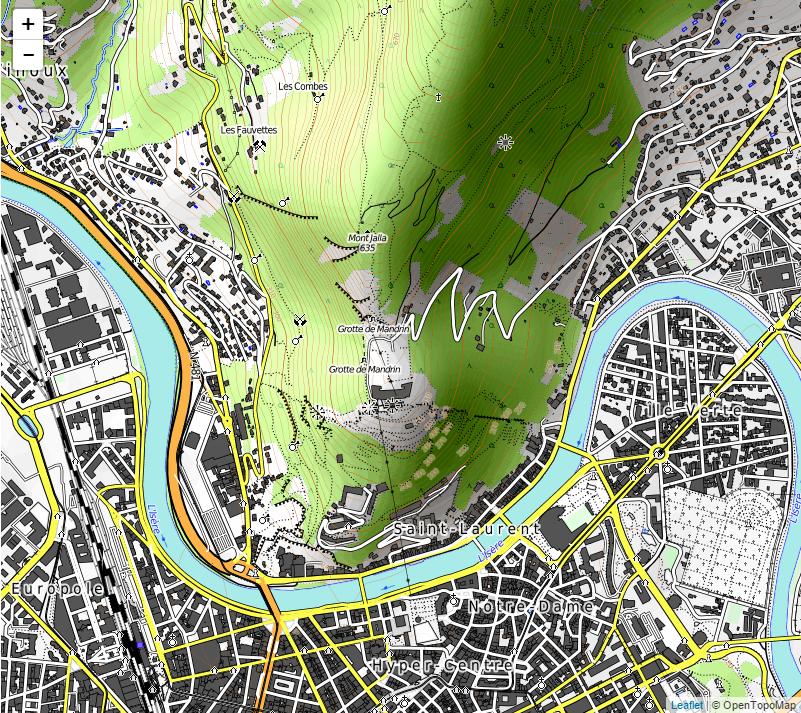OpenTopoMap Garmin OSM downloadable country maps