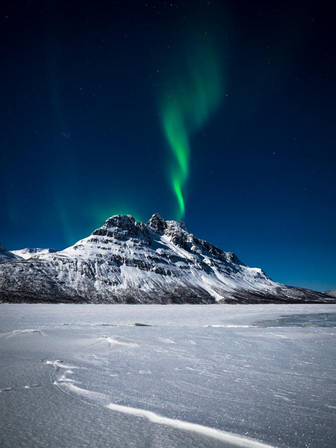 Aurora over Novafjellet