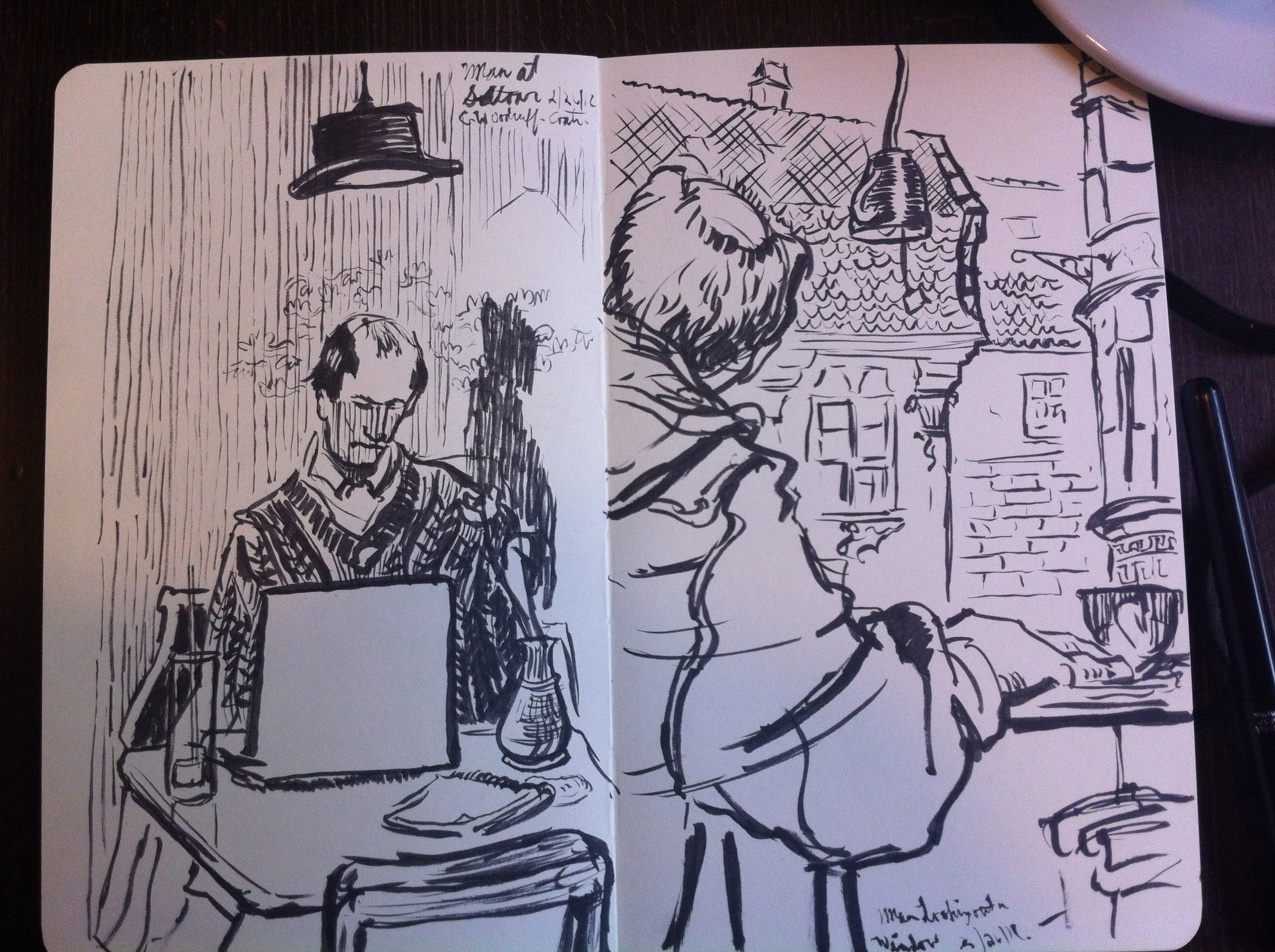 Proof that I still use traditional Sketchbooks