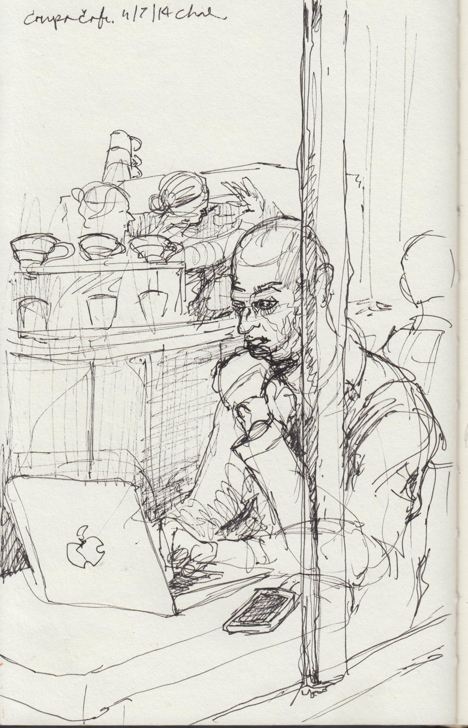 2014 - 11 - 07 - sketchbook - coupa cafe man .jpg