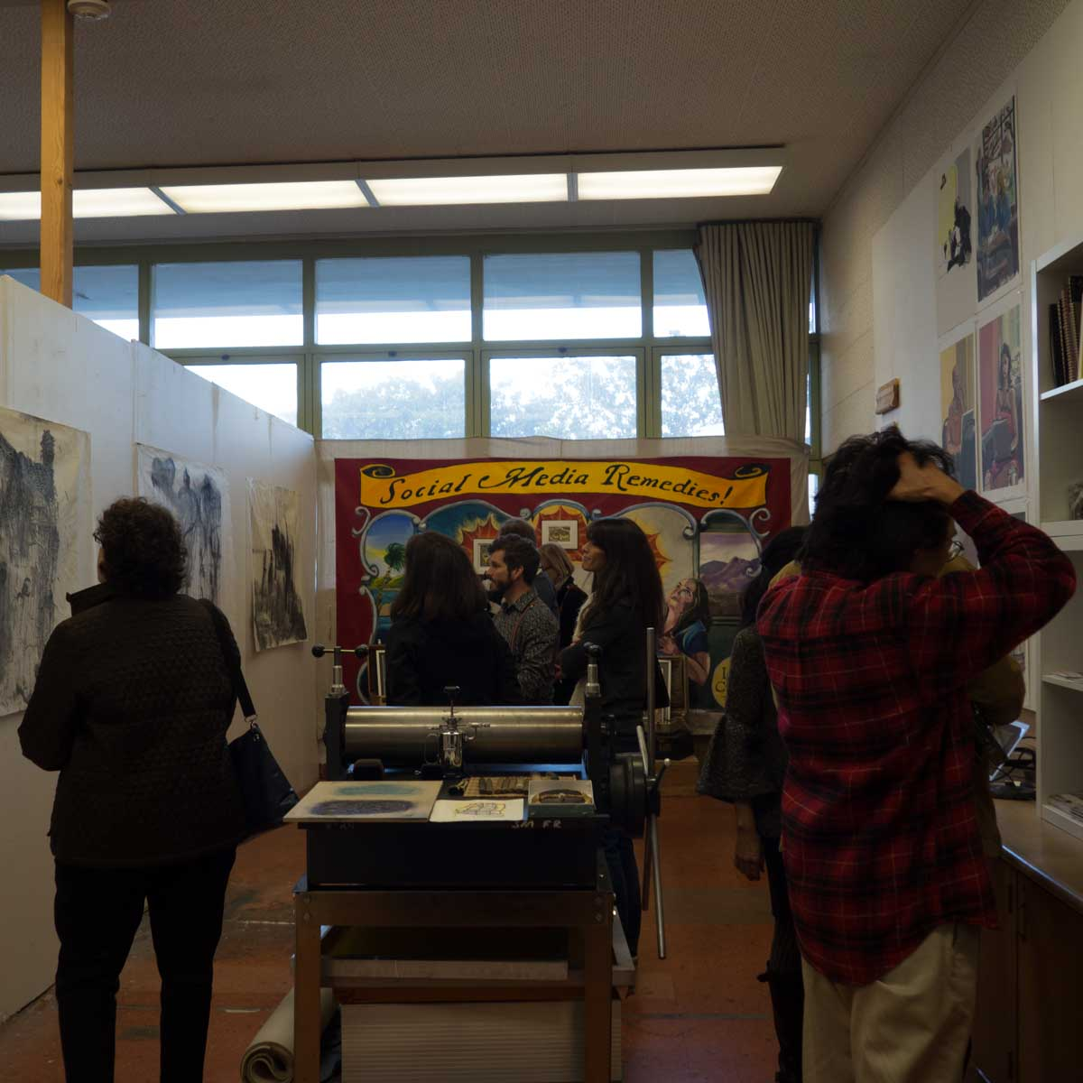 Open Studios at the Cubberley Community Center,, 2014