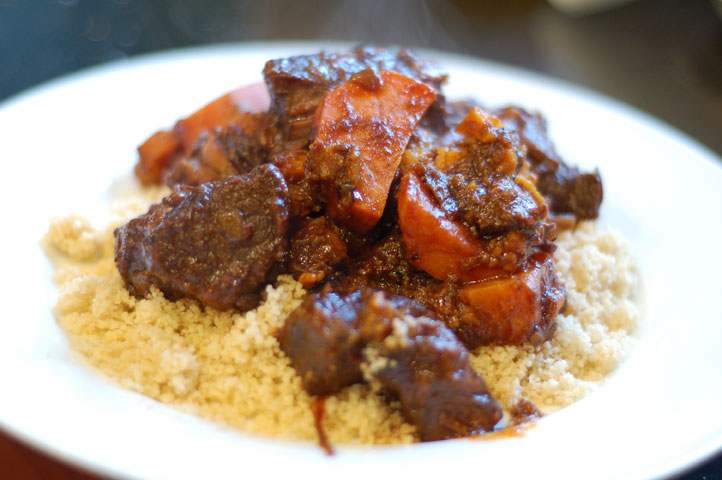 Moroccan Braised Beef And Sweet Potatoes Tonys Kitchen