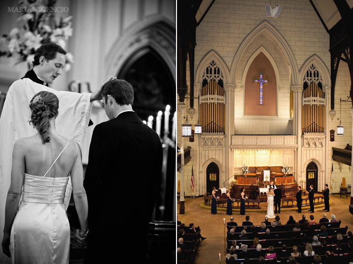 Wedding at Mt. Vernon United Methodist Church in Baltimore, MD