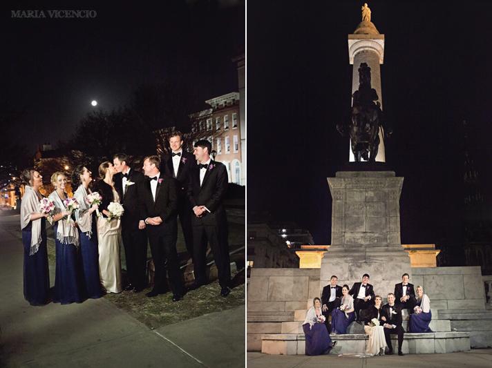 Wedding pictures in Mt. Vernon Baltimore, Maria Vicencio Photography